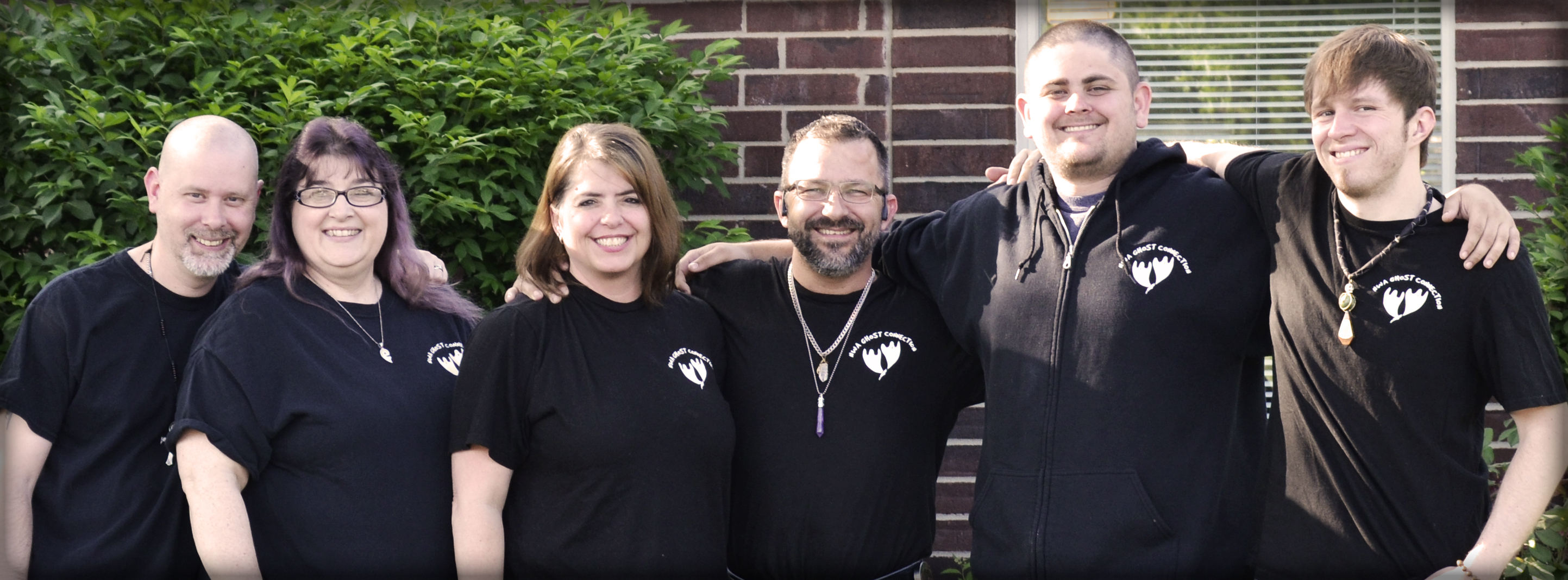 NWA Ghost Connection Group Photo - Paranormal Investigators Ghost Hunters Haunted Help Nonprofit